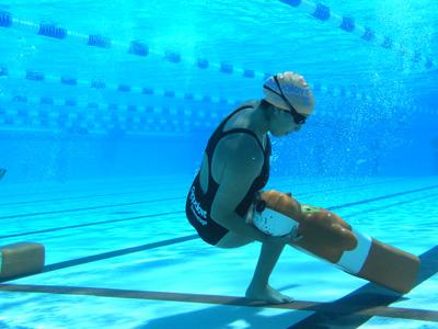 Formation sauveteurs aquatiques aquari 39 ham for Mannequin piscine